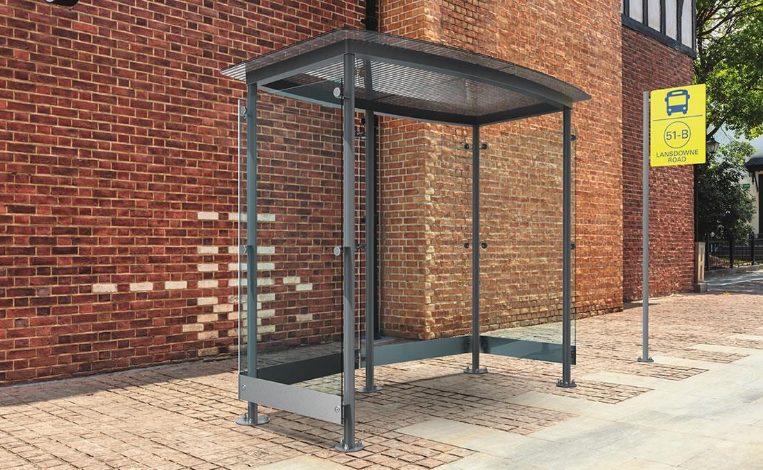 Marquesina parada de autobús YTER
