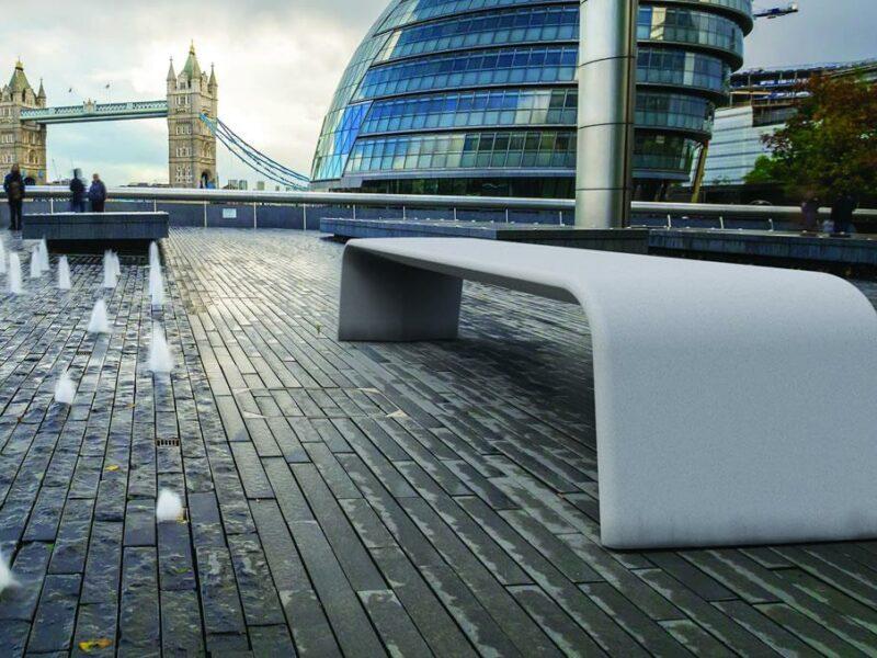 Alba banco hormigon UHPC (Ultra Hight Performance Concrete) YTER