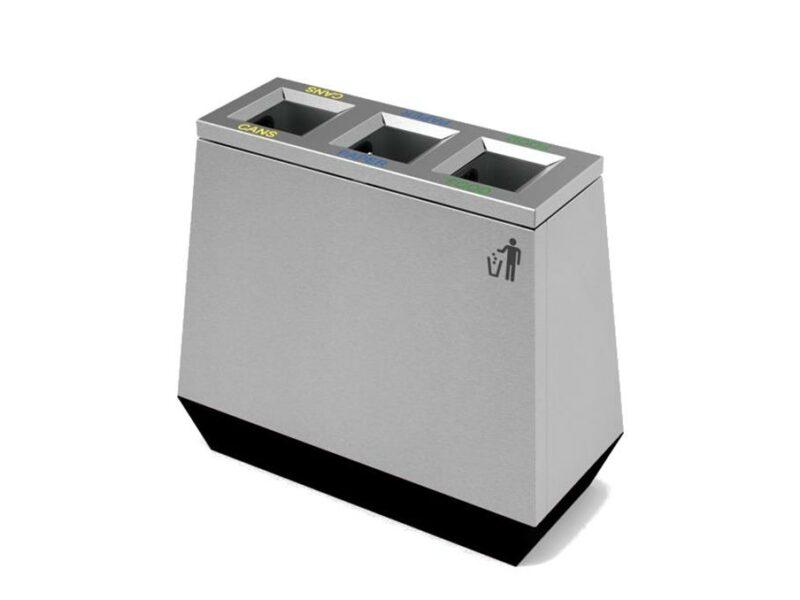 Epico papelera de reciclage de residuos alta gama