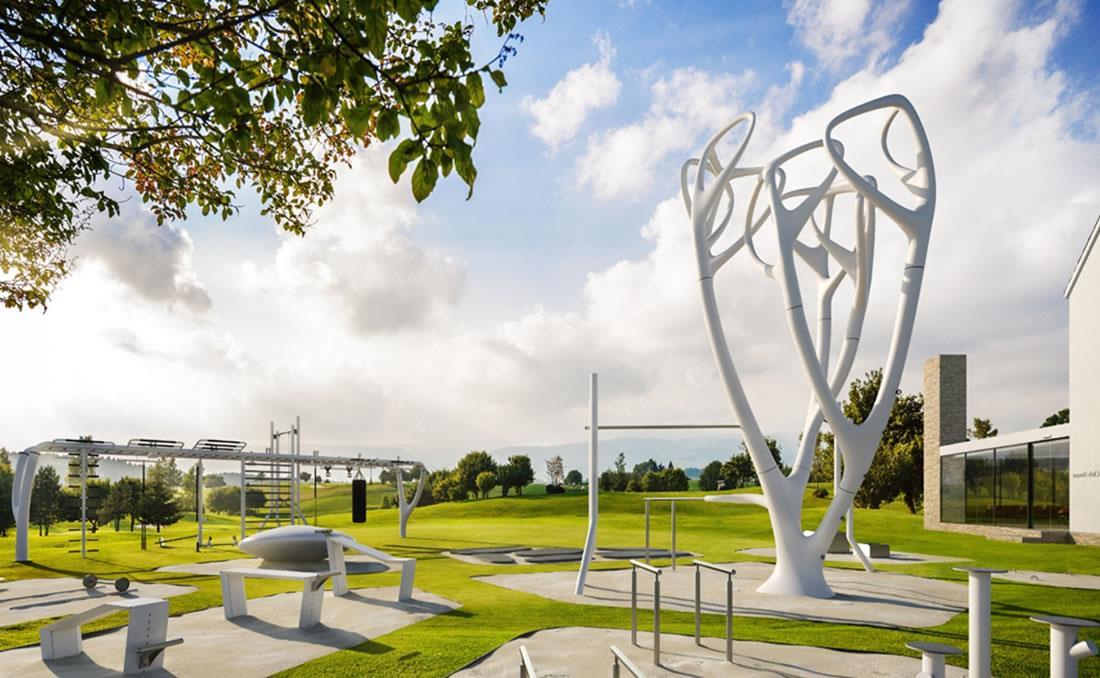 MyEquilibria parque calistenia fitness urbano golf