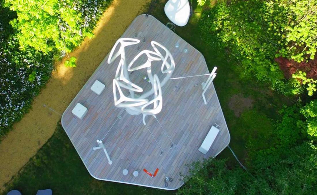 MyEquilibria parque calistenia fitness urbano vista aerea