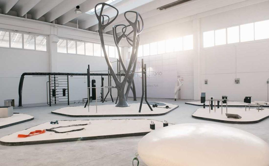 MyEquilibria parque calistenia fitness urbano interior