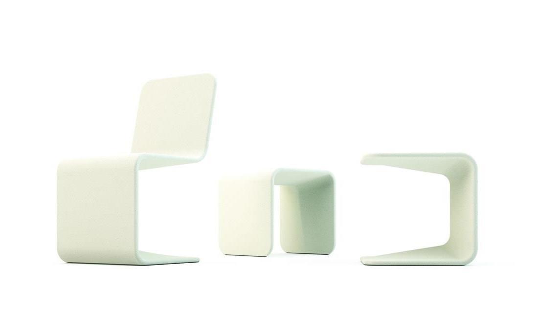 Spring asiento taburete de hormigón diseño moderno 3D
