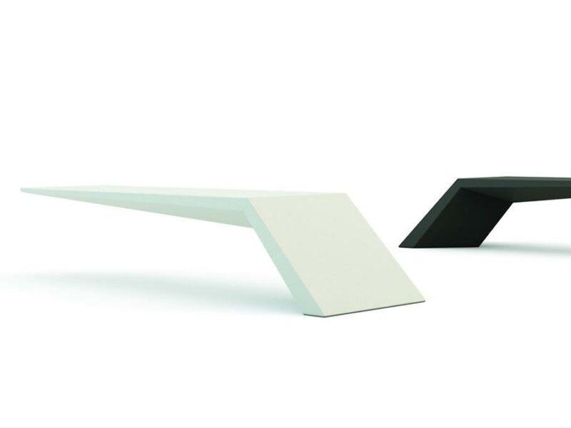 Wing banco de hormigon UHPC imagen 3D