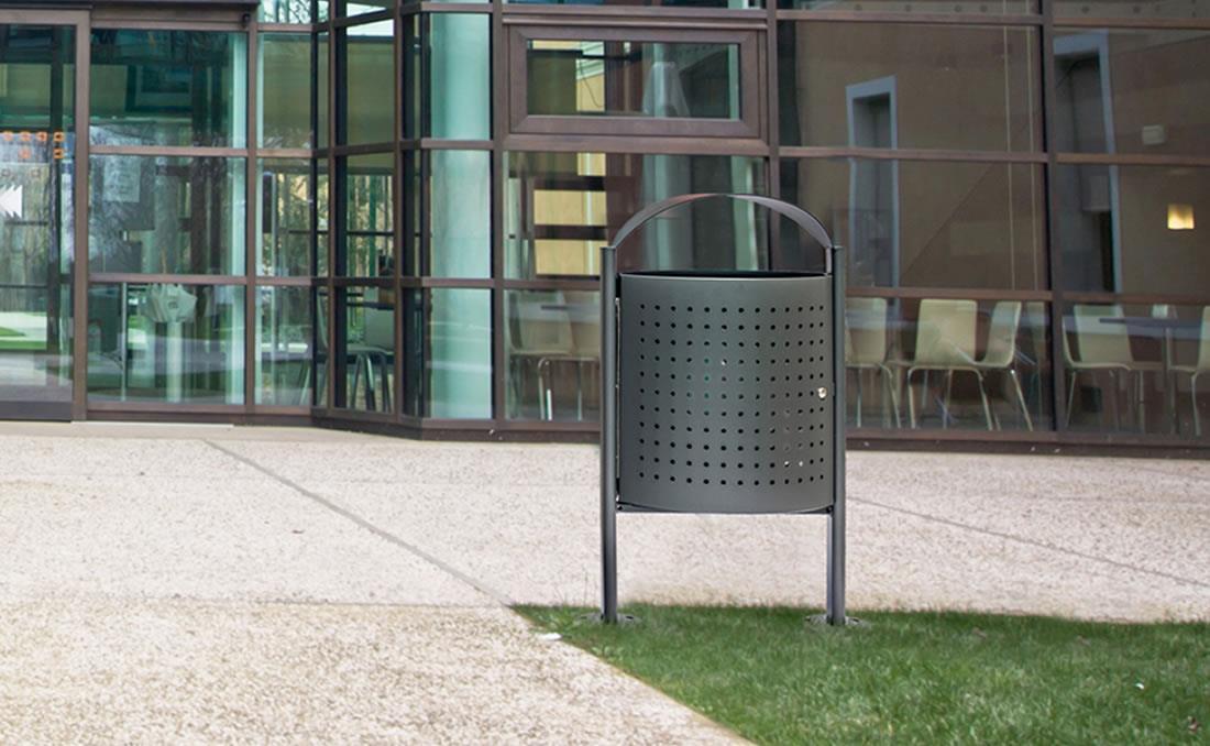 Eliseo papelera mobiliario urbano alta calidad