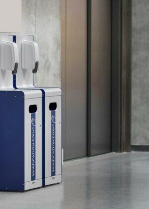 Punto de higiene dosificador gel hidroalcohólico