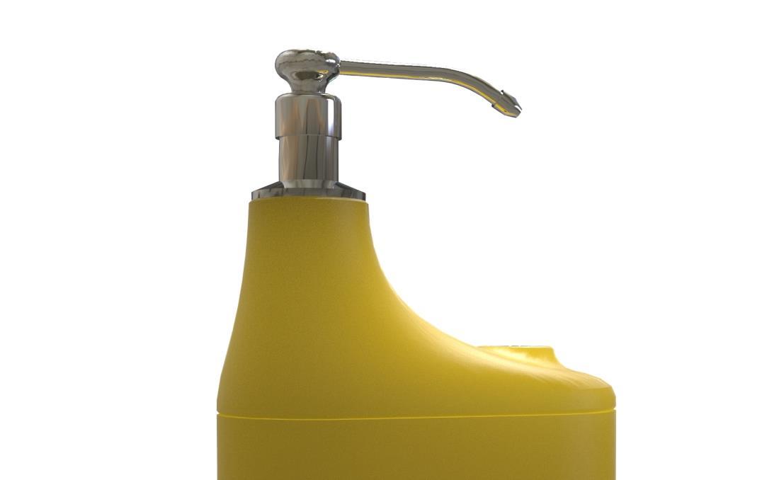 dispensador gel hidroalcoholico de pie