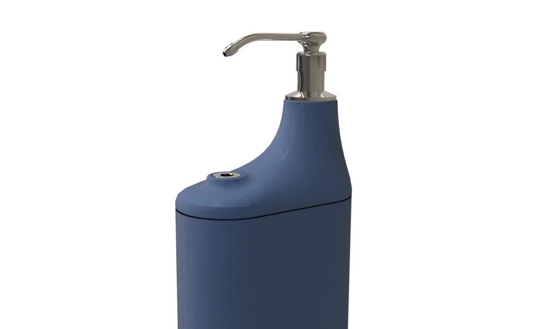 Dispensador gel hidroalcoholico de pie gran capacidad desinfectante