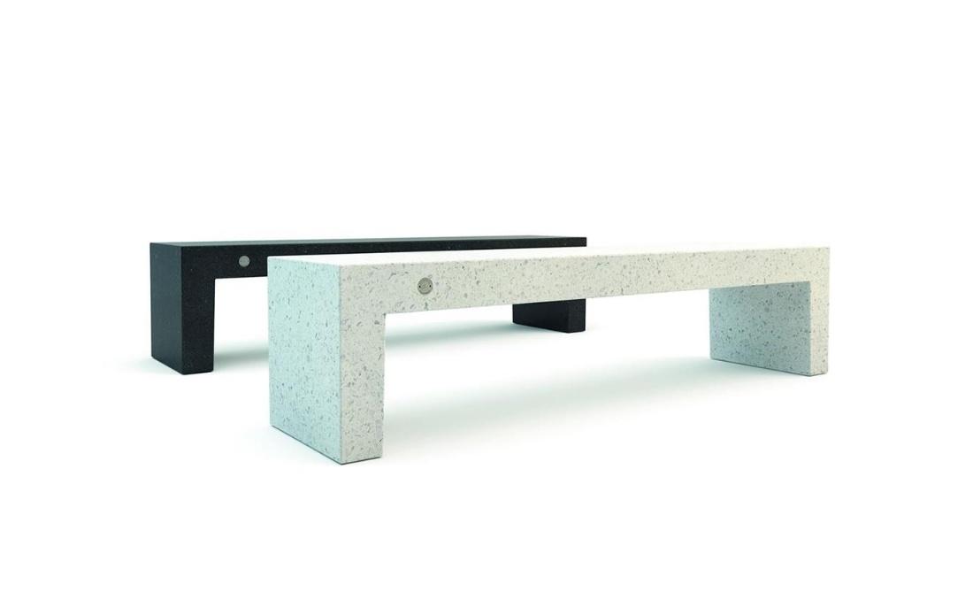 Banco de granito YTER para mobiliario urbano