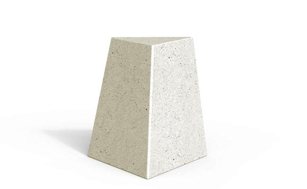 Bolardo de piedra