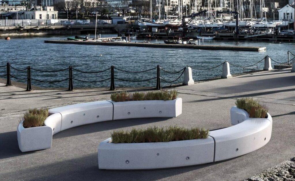 Maceteros para mobiliario urbano
